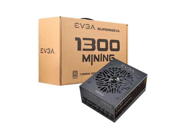 EVGA پاور مخصوص ماینینگ SuperNova 1300 M1 را عرضه کرد